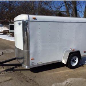 5x10 enclosed trailer