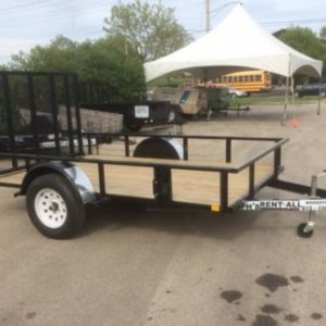6.5 x 10 open trailer