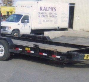 Big Tex Heavey Equipment trailer