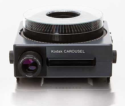 Projector carousel kodak ralph 39 s general rent all for Miroir 50 projector